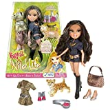 MGA Entertainment Bratz Wild Life Series 10 Inch Doll Set - Safari YASMIN with Sunglasses, 2 Sets of Outfits, Extra Pair of Shoes, Binocular, Water Canteen and Collectible Spotted Leopard