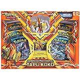 Box Pokémon Tapu Koko com Miniatura - Copag