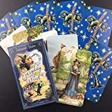 SHISAN Tarot Cards, 78 Cards Everyday Witch Oracle