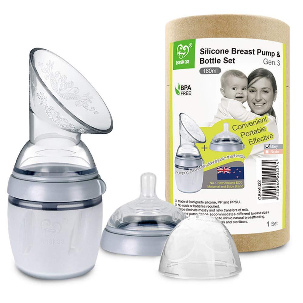 Amazon Com Haakaa Gen 3 Manual Breast Pump Bottle 5oz 160ml Baby