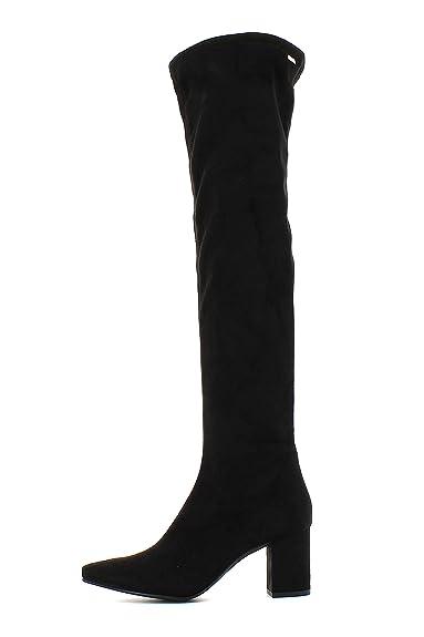 Mustang Botas Altas Encima Rodilla Negras: Amazon.es: Zapatos y complementos