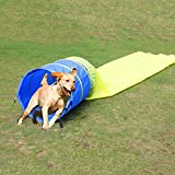 Pet Agility Tunnel Dog Play Outdoor Training and