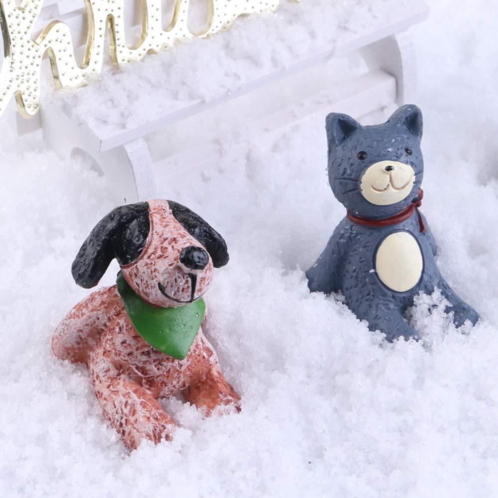 pushfocourag Polvo de Nieve Artificial para decoraci/ón de Navidad