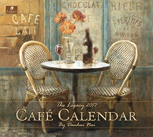 Legacy Publishing Group 2017 Wall Calendar, Cafe
