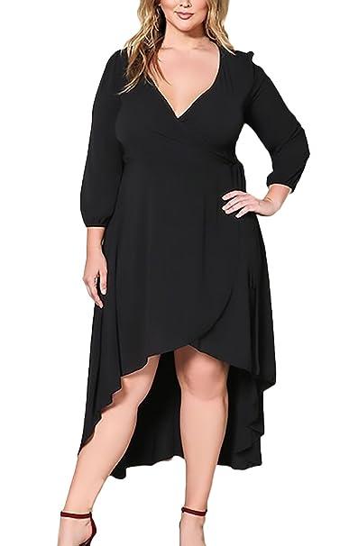 Mujer Vestidos De Fiesta Largos De Noche Tallas Grandes ...