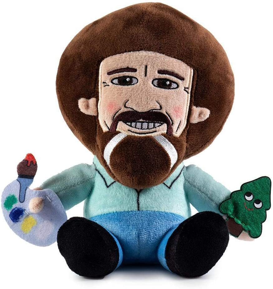 Kidrobot Phunny Bob Ross Plush NEW Toys Plushies