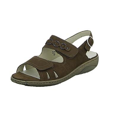afdef7680563 WALDLÄUFER GARDA 210004191055 Womens Sandal  Amazon.co.uk  Shoes   Bags