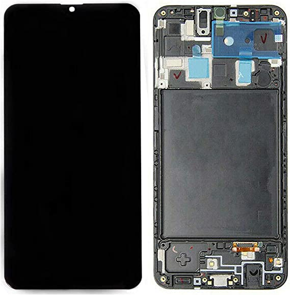 Amazon Com Lhnd Lcd Screen Replacement Frame For Samsung Galaxy A20 Sm A205f Ds A205fn A205gn Ds A205yn A205g Ds Lcd Touch Screen Digitizer Frame Glass Display Assembly Parts With Repair Tools