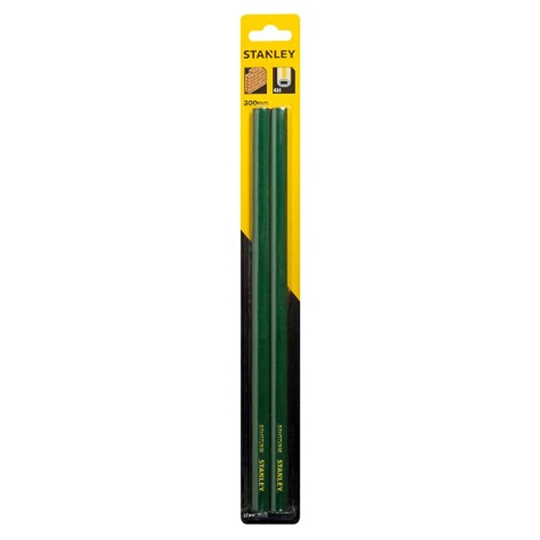 Stanley STHT0-72998 Crayon de ma/çon 30 cm Carte 2 pi/èces Corps Vert