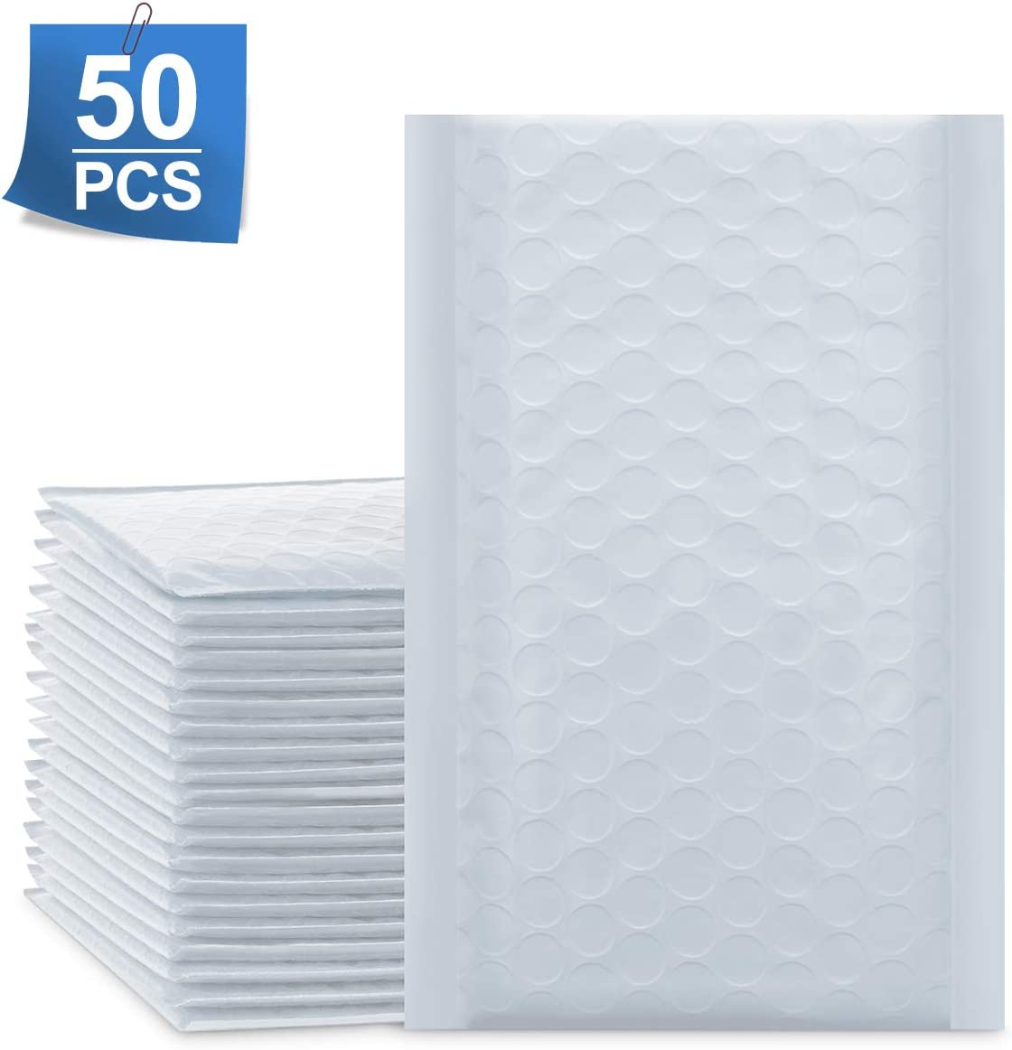 Sobres De Burbujas blanco X 50 (10x20cm) Mailer Plus