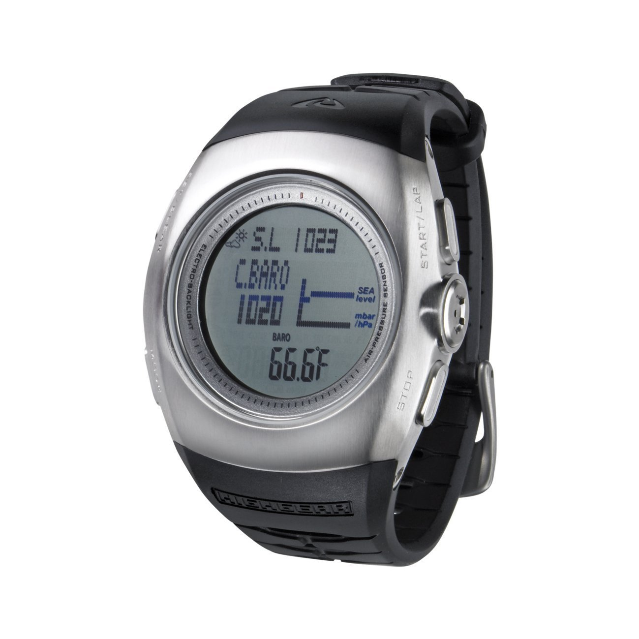 Techtrail Multifunktionsuhr Altis, stainless steel