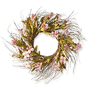 National Tree Company 22 in. Twig Spring Wreath 50