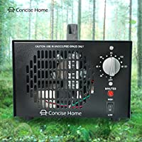 Concise Home 7000mg Commercial Air Ozone Generator & Air Purifier | Natural Odor Remover