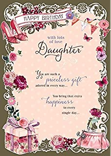 Amazon dad 70th birthday birthday greetings card home kitchen daughter priceless gift nice verse happy birthday quality greeting card bookmarktalkfo Choice Image
