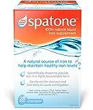 SPATONE 100% Natural Liquid Iron Supplement 28 Sachets