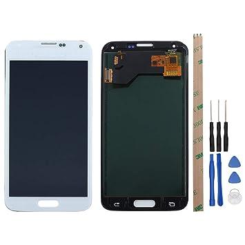 West Dragon - Pantalla táctil LCD para Samsung Galaxy S5 (Incluye ...