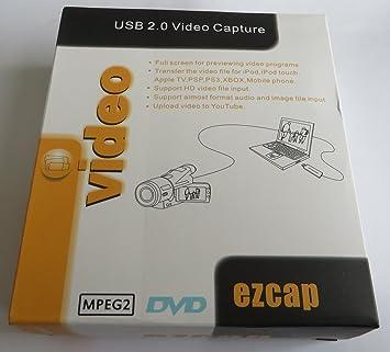 EzCAP 3 5mm RCA to USB 2 0 Audio OGG MP3 WAV Capture