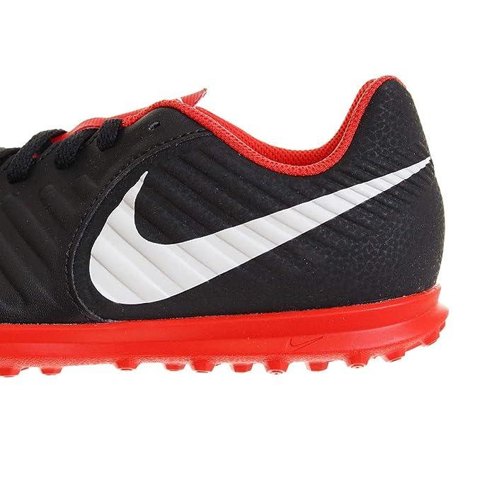 finest selection 9f232 fb3d4 Nike Jr Legend 7 Club Tf, Scarpe da Fitness Unisex-Bambini, Multicolore ( Black Pure Platinum Lt Crimson 006), 36 EU  Amazon.it  Scarpe e borse