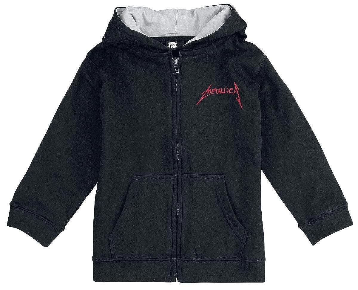 Metallica Scary Guy Hoodie Jacket Black 116