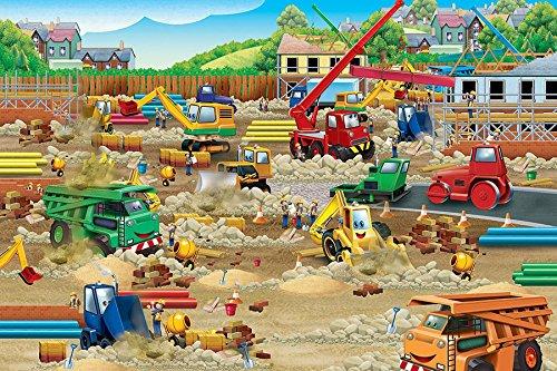 tion Zone 36 Piece Construction 36 Piece Floor Puzzle ()