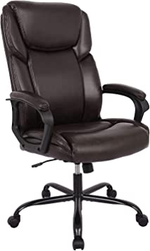 Amazon Com Rimiking Office Chair Executive Computer Task Desk Chair Pu Leather Reclining Adjustable Seat Height Swivel Ergonomic Design For Lumbar Support Office Products
