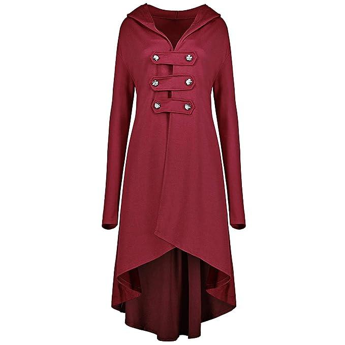Missrooney Plus Size 5XL Women Long Trench Coats Double ...
