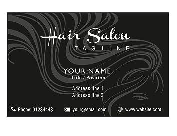 Haar Schönheits Salon Personalisierte Visitenkarten