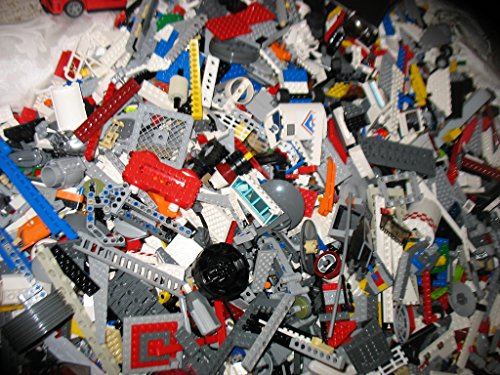 500 Random Lego Pieces Washed Sanitized and Sorted from big