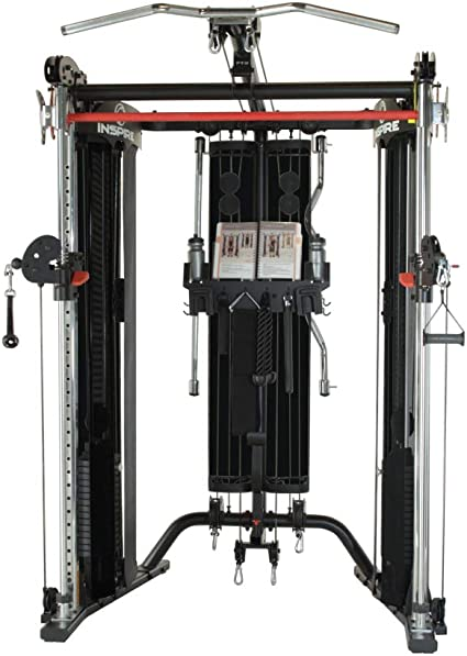 Inspire Fitness FT2 Functional Trainer/estación de Smith: Amazon.com.mx: Deportes y Aire Libre