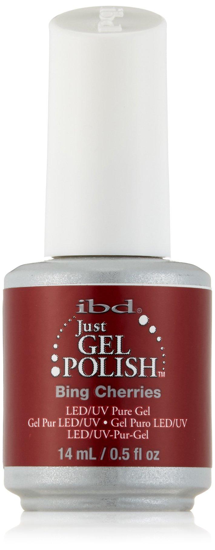 IBD Just Gel Nail Polish, Bing Cherries, 0.5 Fluid Ounce