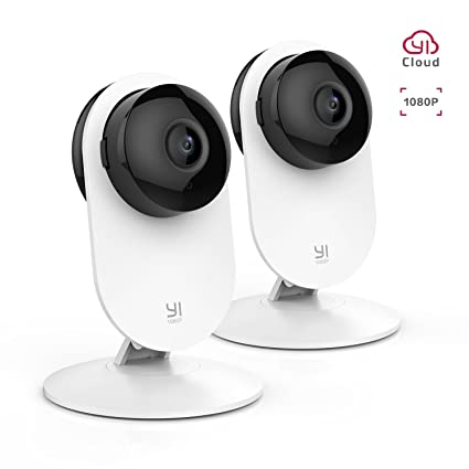 fdfa30cb91b8 YI 2pc 1080P Home Camera Wireless Indoor Security IP Camera with Night  Version Motion Detection Two