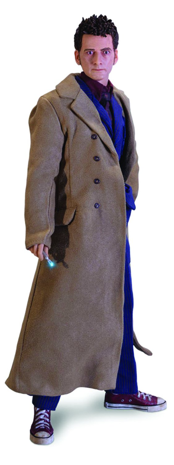 Doctor Who Maßstab 1: 6Die 'Tenth Doctor Collector Figur