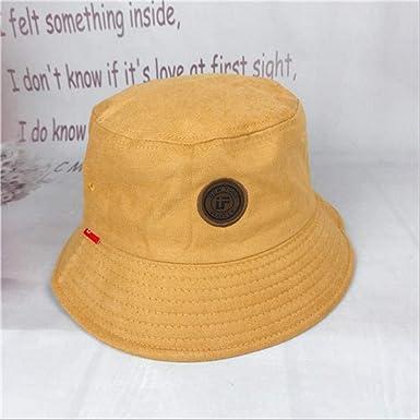 LIBINGQ Sombrero de Mujer Pescador Casual Sombrero al Aire Libre ...