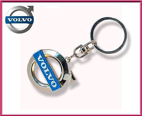 Volvo logo Llavero Llavero de Metal, Color Metal Cromado ...