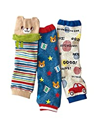 Luckystaryuan ® Prime Deals Set of 3 Cotton Baby Leg Warmer