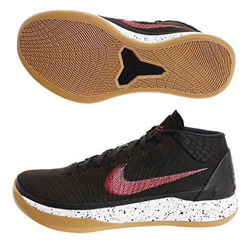 Nike Heren Kobe Ad Mid Ep, Zwart / Sail-gum Lichtbruin Zwart / Sail-gum Lichtbruin
