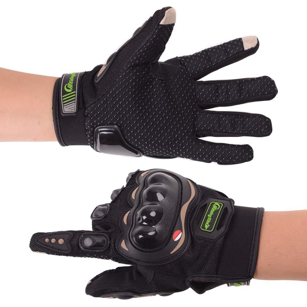 iTimo Guantes de Motocicleta de dedos completos Guantes de Pantalla T/áctil Transpirable