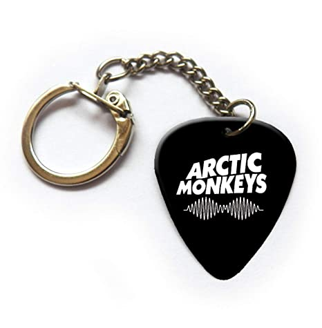 Arctic Monkeys - Llavero de púa de guitarra (BW): Amazon.es ...