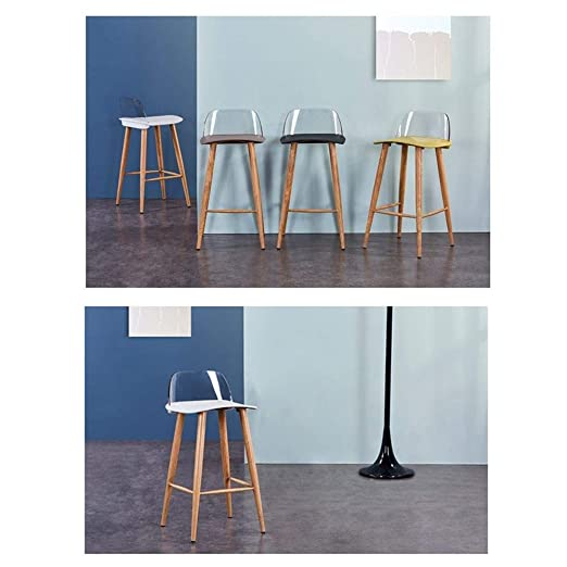 Amazon.com - AGLZWY Dining Chairs Counter Height Bar Stools ...