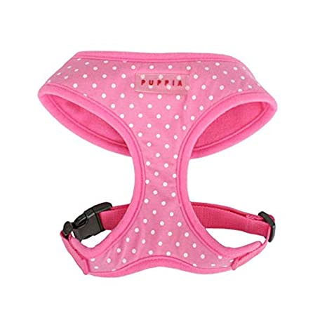 PUPPIA Dotty arnés, medio, color rosa: Amazon.es: Productos para ...