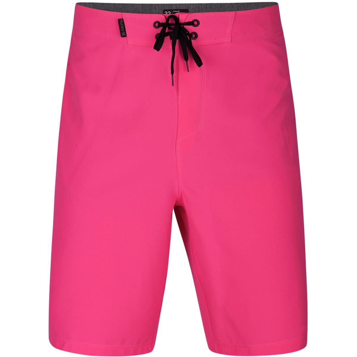 Hurley Men's Phantom P30 One & Only Stretch 20'' Boardshort Swim Short, Hyper Pink, 28