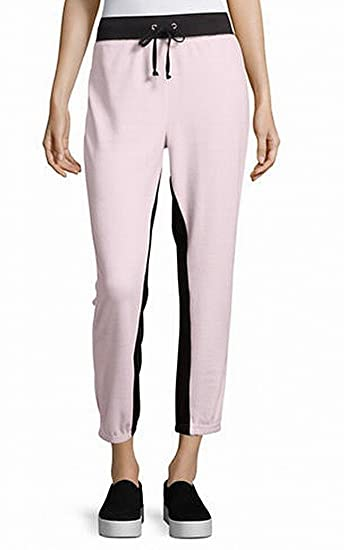 ad3c6cdae2d8 Amazon.com  Juicy Couture Women s Velour Color Blocked Silverlake Joggers   Clothing