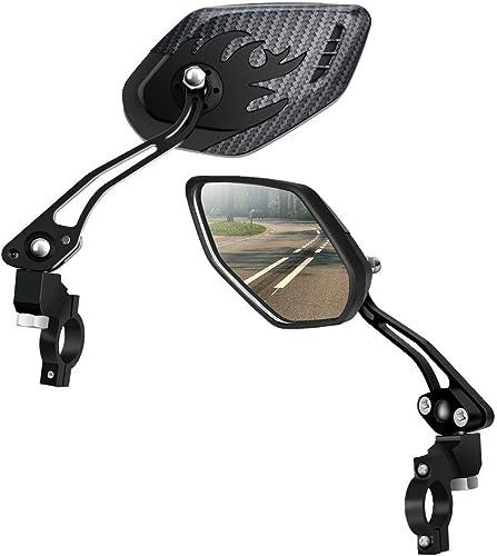 LX LERMX Bike Mirrors Upgraded Version Two PCS HD