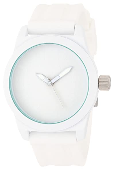 Kenneth Cole REACTION Womens RK2224 Round Analog White Dial Watch