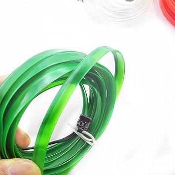 Zantec 5M flexibles Neonlicht Auto EL Draht Seil Schlauch LED ...