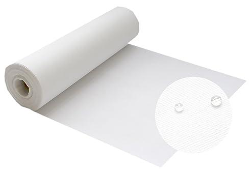 Silver Tischdecke Weiß,Meterware Von Der Rolle Aus Stoffähnlichem Vlies,  Dicke Und Feste Gastronomiequalität