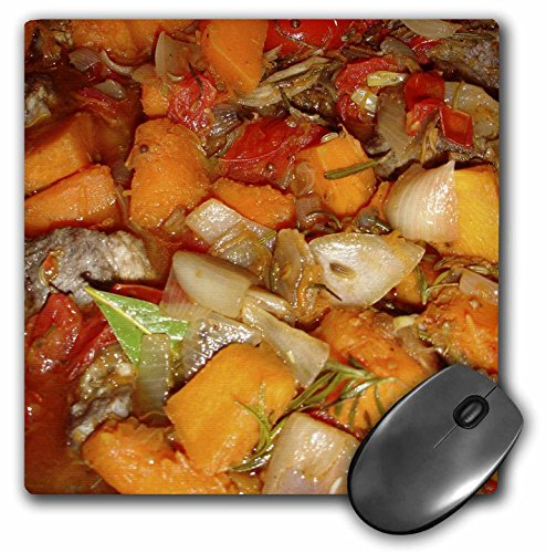 3dRose LLC 8 x 8 x 0.25 Inches Mouse Pad, Moroccan Tagine - Moroccan, Moroccan Stew, Food, Hot Food, Casserole, Recipe, Main Course (mp_46840_1)