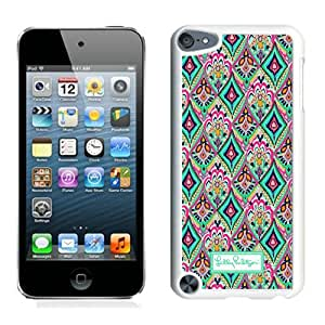 Hot Sale Ipod 5 Case,Lilly Pulitzer 30 White iPod Touch 5 Screen Phone Case Grace and Popular Design