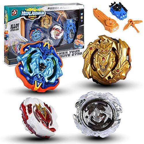 Spinning Tops met Launcher, Gyro Spinning Top Classic Set voor Kids Gift