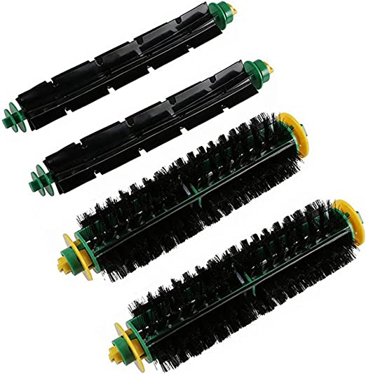 Cepillo de cerdas flexibles y 4 pack Pack para piezas de ...